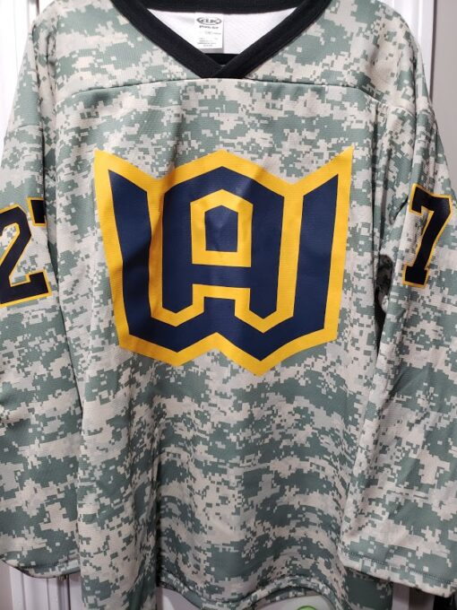camo game jersey